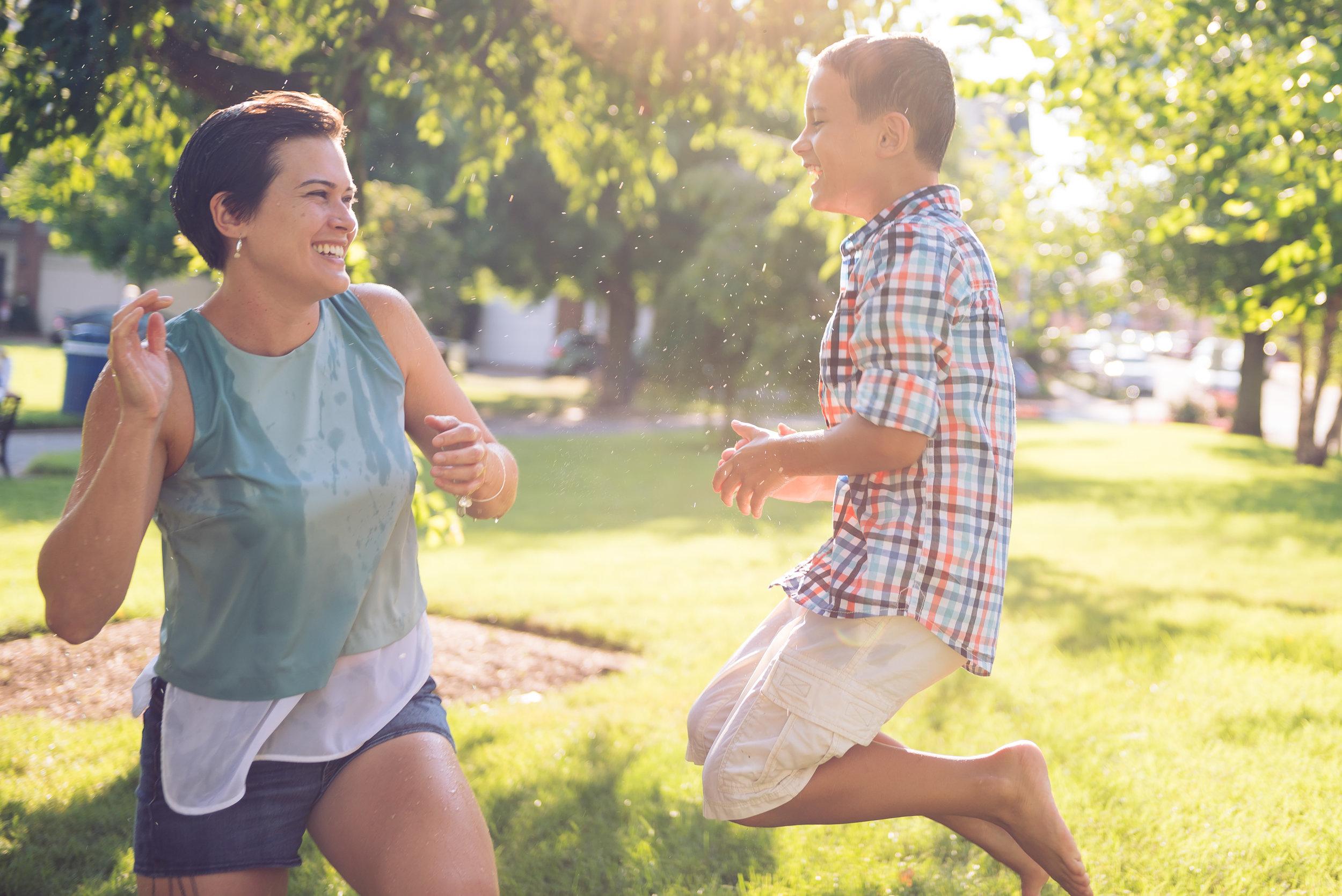 Matthews Family shot by TJ Fick Photography
