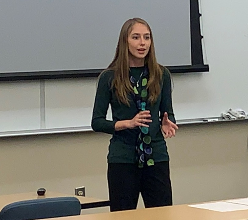 Speaking on a recent mission trip with JFA at Kennesaw State University in Georgia