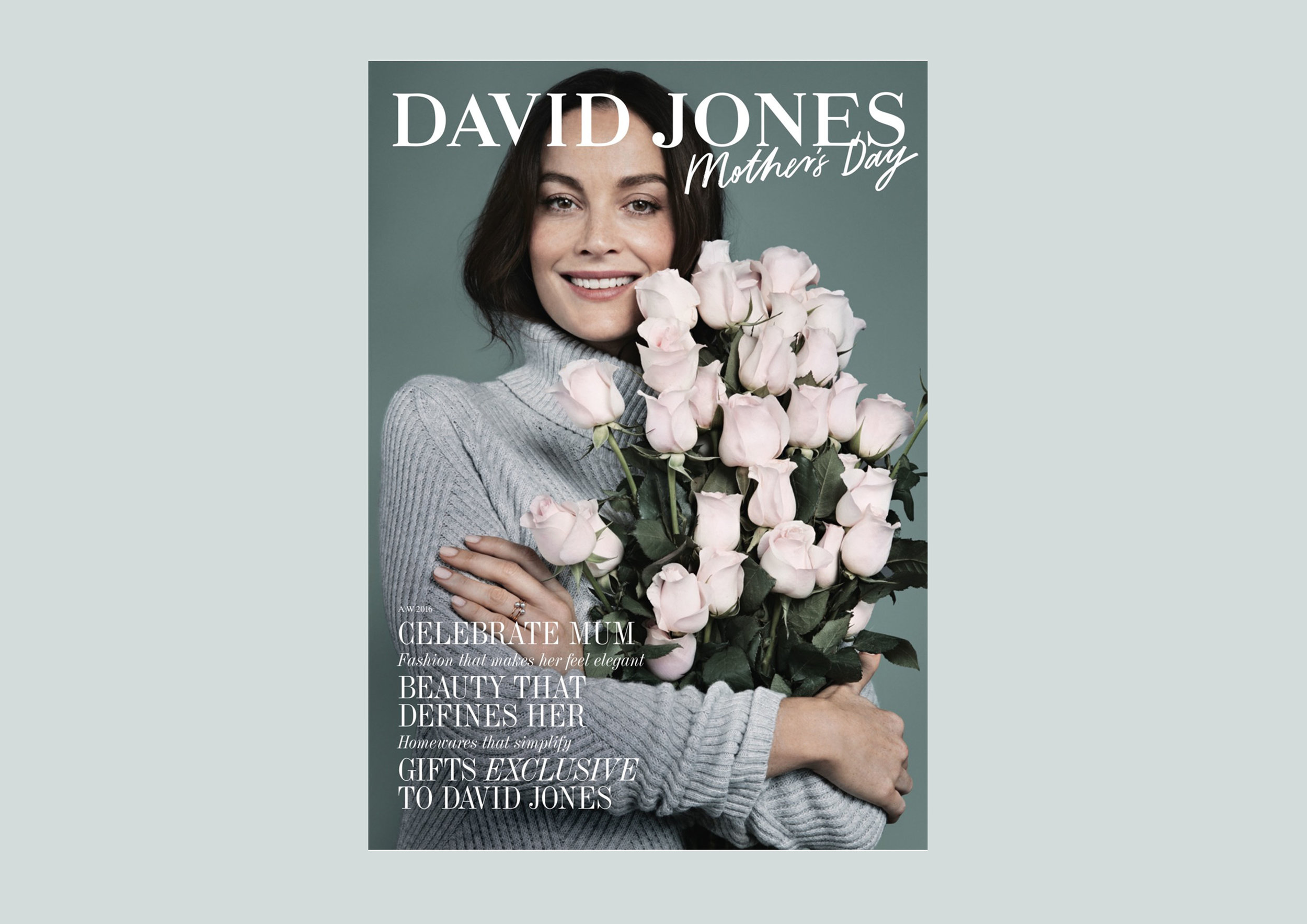 David Jones Mother's Day Catalogue (2016)
