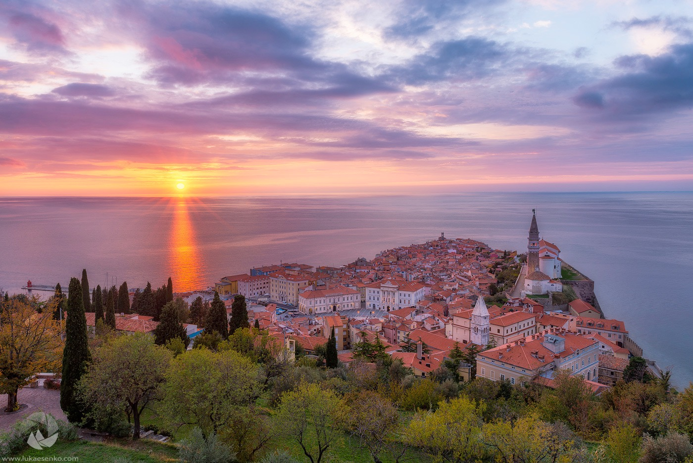 Piran, SLOVENIA's treasure AT THE adriatic coast