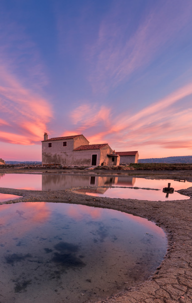Mediterranean's northernmost salt pans, a protected cultural monument and nature park