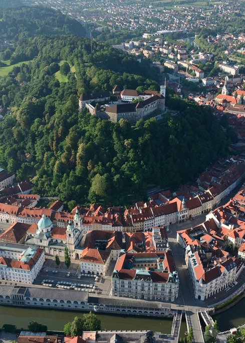 Ljubljana CASTLE HILL AND OLD TOWN