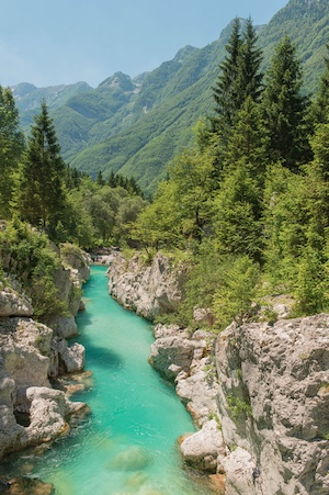 Soca, the emerald river