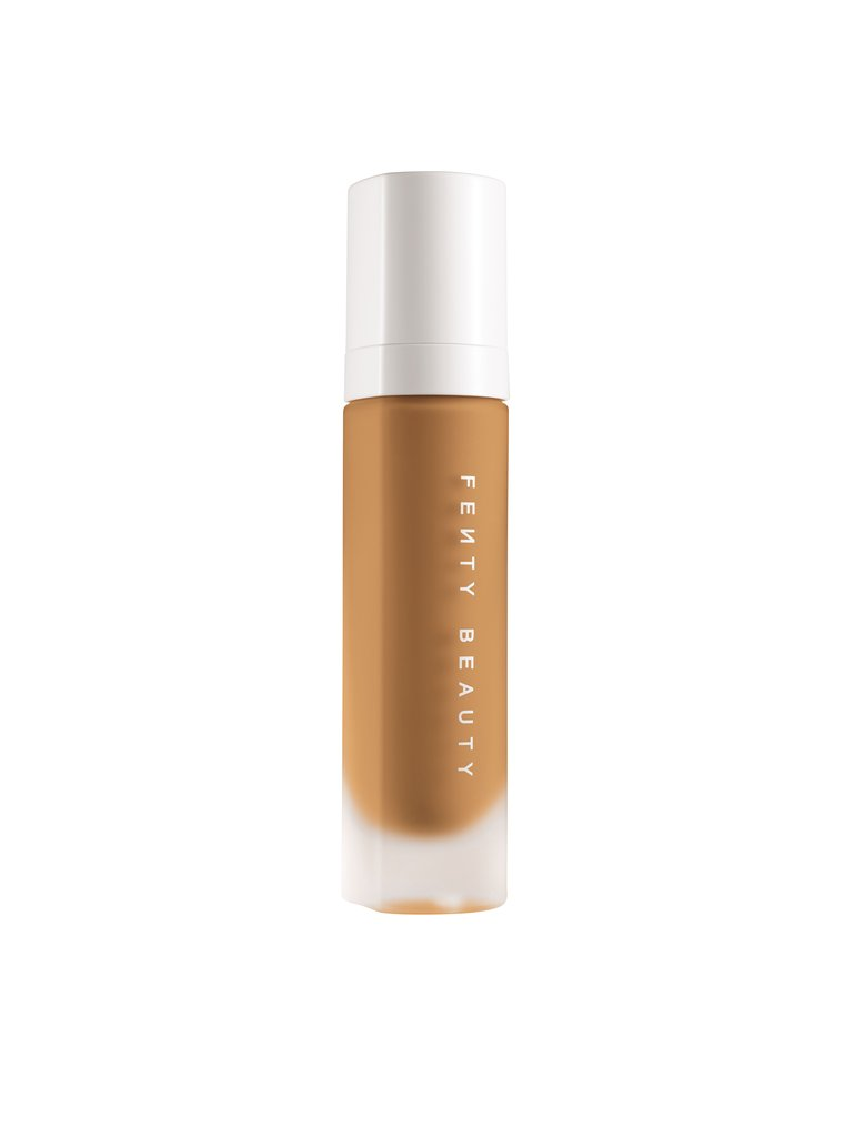 Fenty Beauty Foundation - Shade: 310 Matte Finish, Beautiful finish using buffing brush and long lasting.