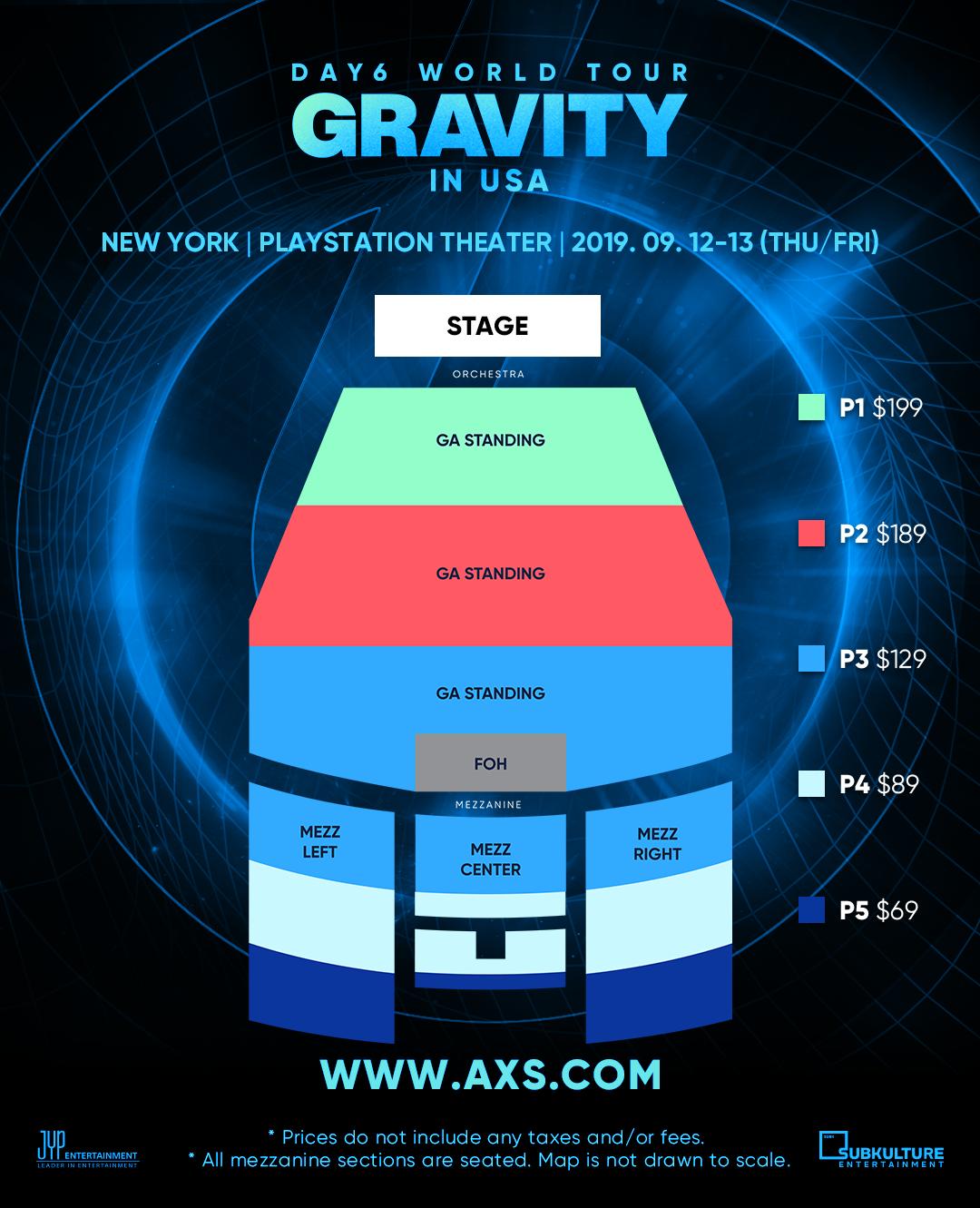Day6 World Tour Gravity In Usa Subkulture Entertainment