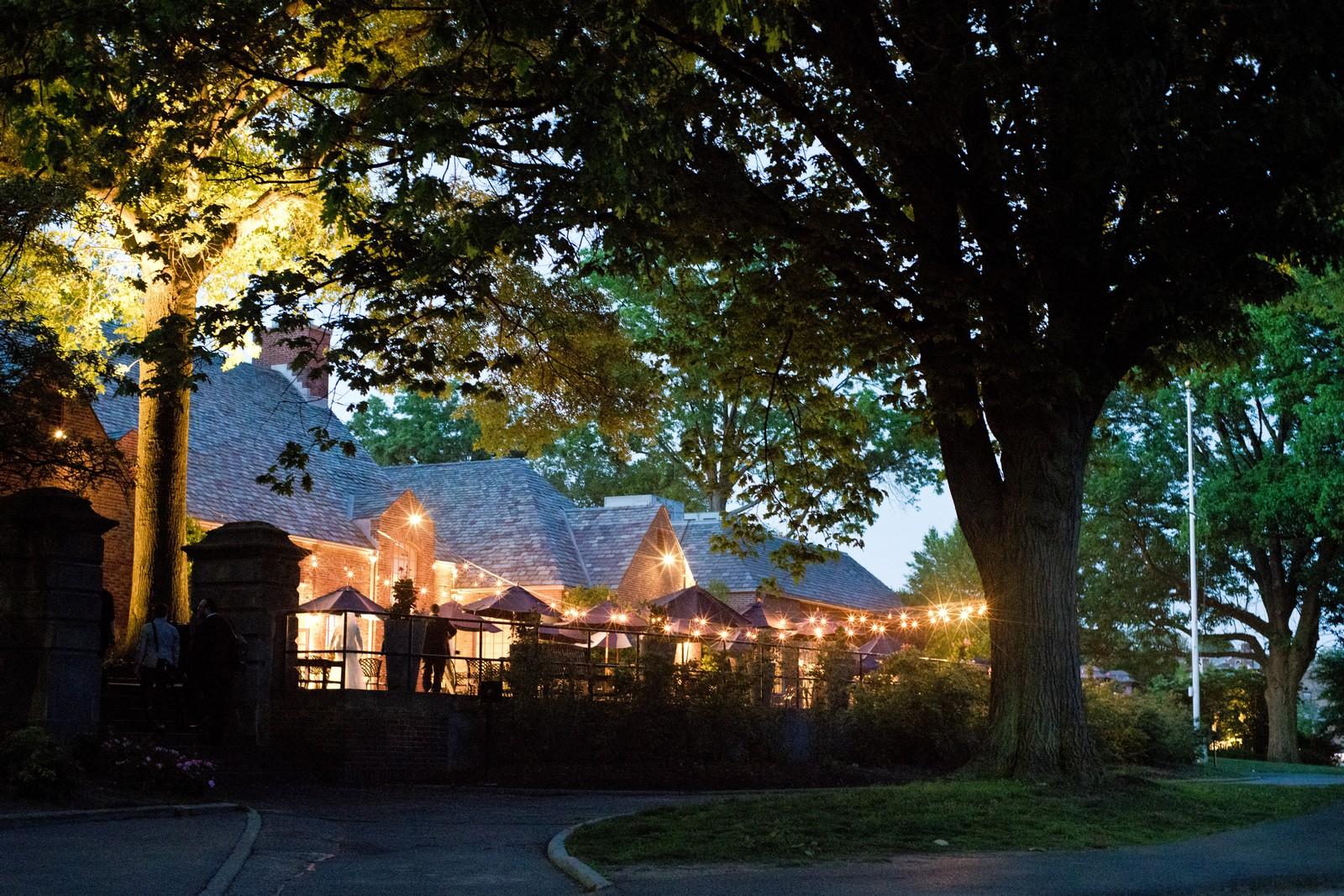 Orthodox Jewish Wedding, Dyker Beach Park and Golf Course, Brooklyn, New York, Photo by Chaim Schvarcz, Evening Lights, Venue