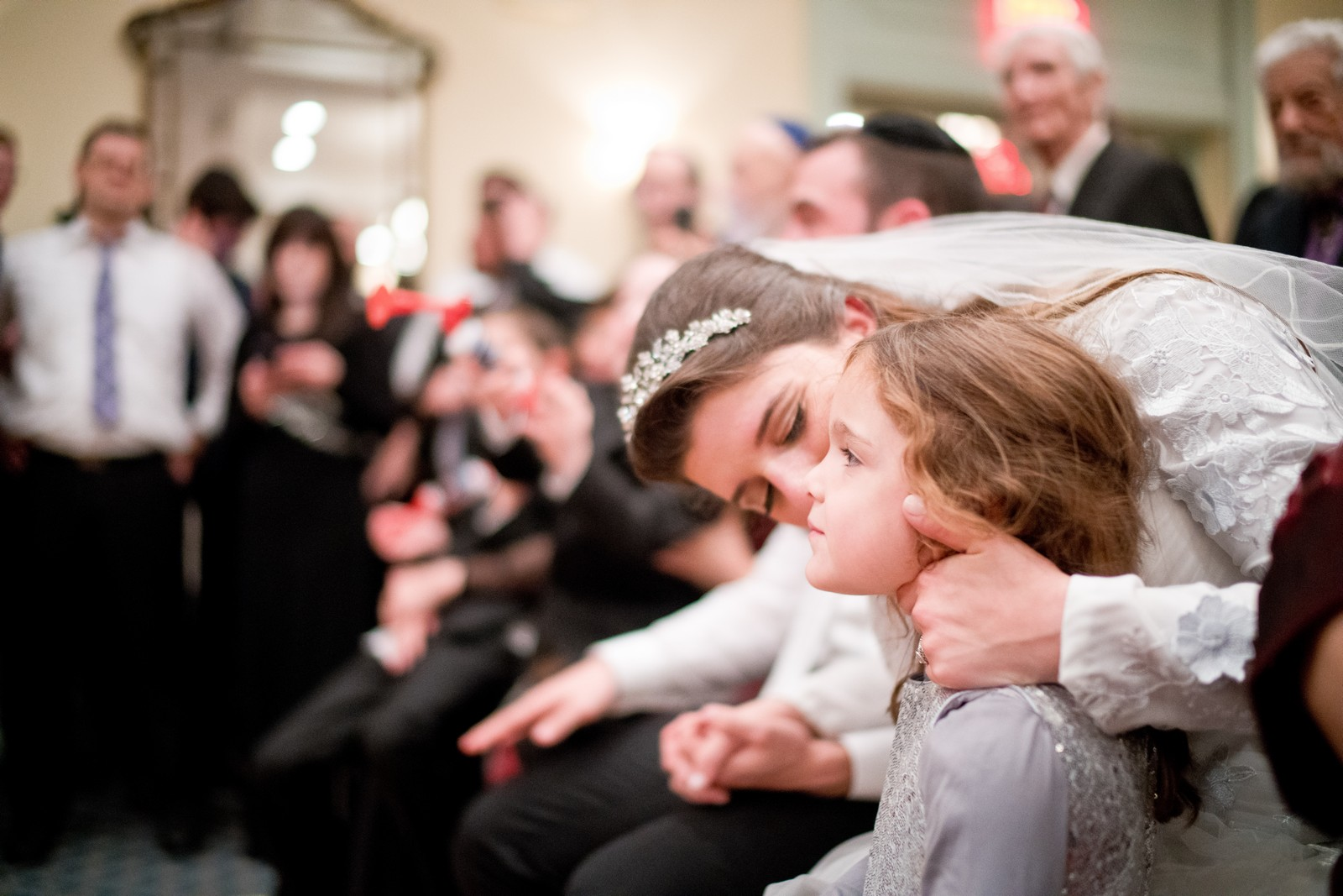 Orthodox Jewish Wedding, Dyker Beach Park and Golf Course, Brooklyn, New York, Photo by Chaim Schvarcz, Bride, Neice