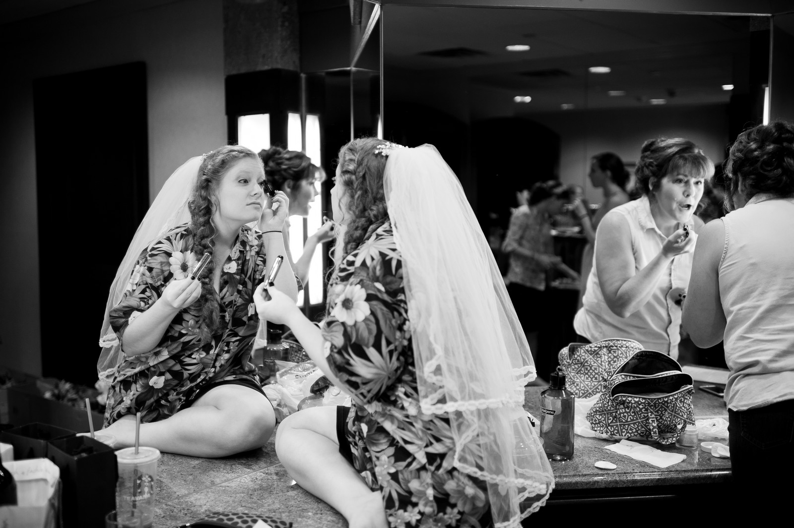 Sam and Yishai's Modern Orthodox Jewish Wedding at Crest Hollow Country Club, Woodbury NY, Photos by Chaim Schvarcz, Prep, Bride Prep