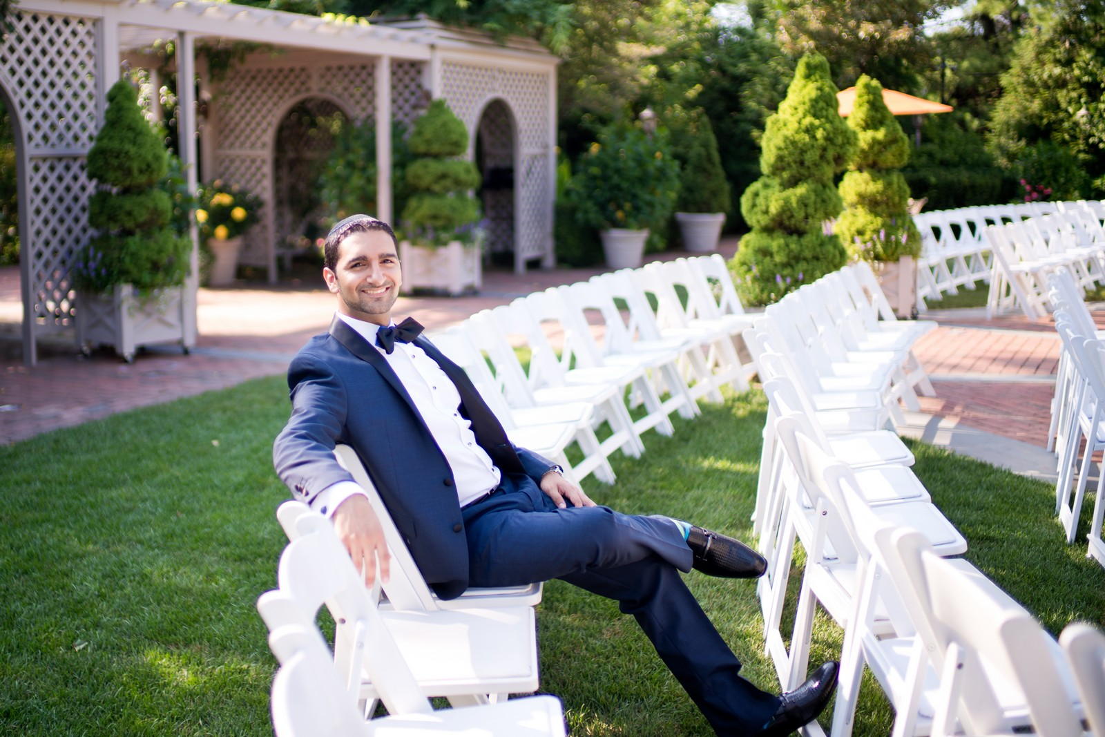 Sam and Yishai's Modern Orthodox Jewish Wedding at Crest Hollow Country Club, Woodbury NY, Photos by Chaim Schvarcz, Groom Portraits