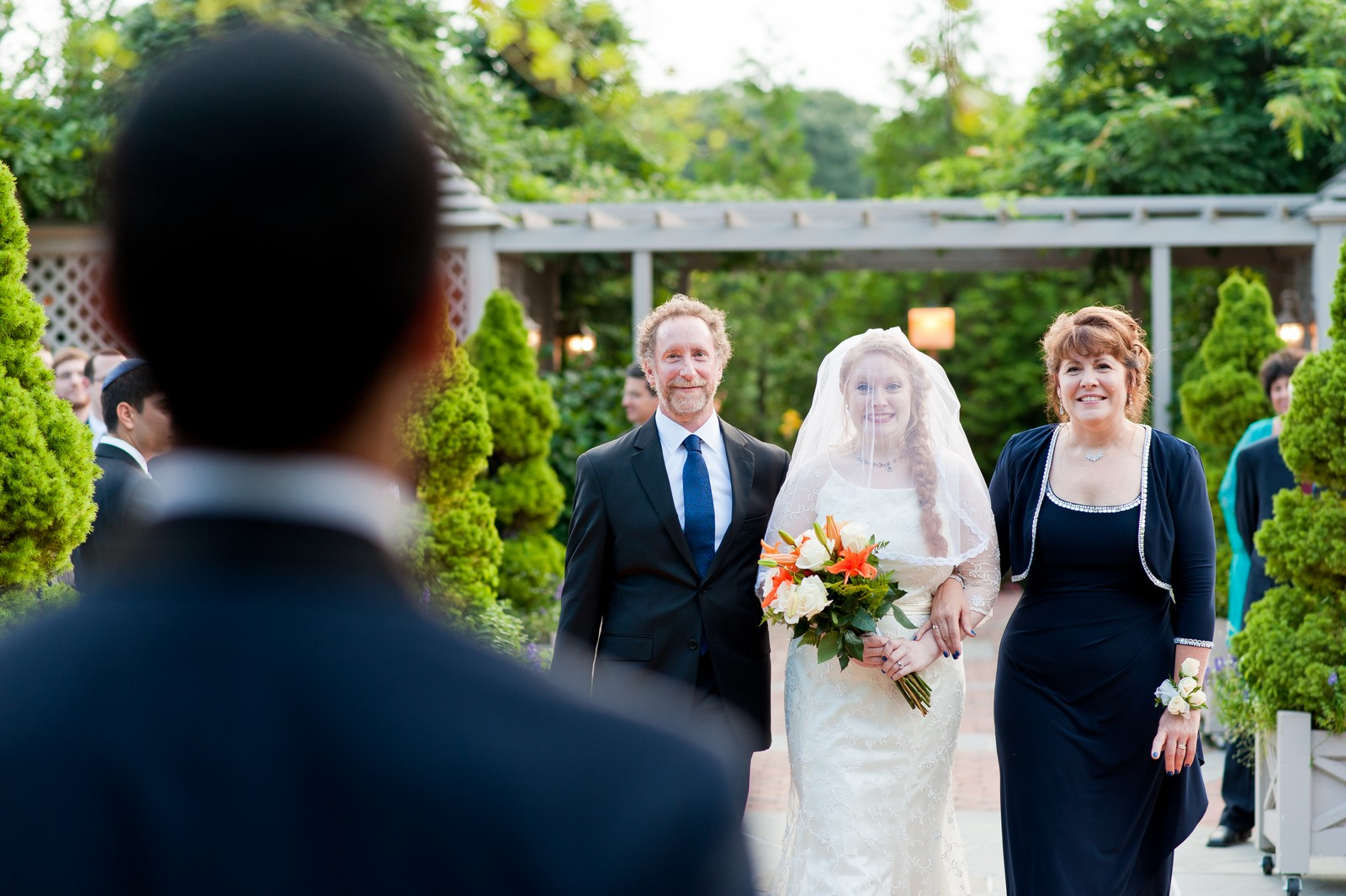 Sam and Yishai's Modern Orthodox Jewish Wedding at Crest Hollow Country Club, Woodbury NY, Photos by Chaim Schvarcz, Bride, Groom, Chuppah