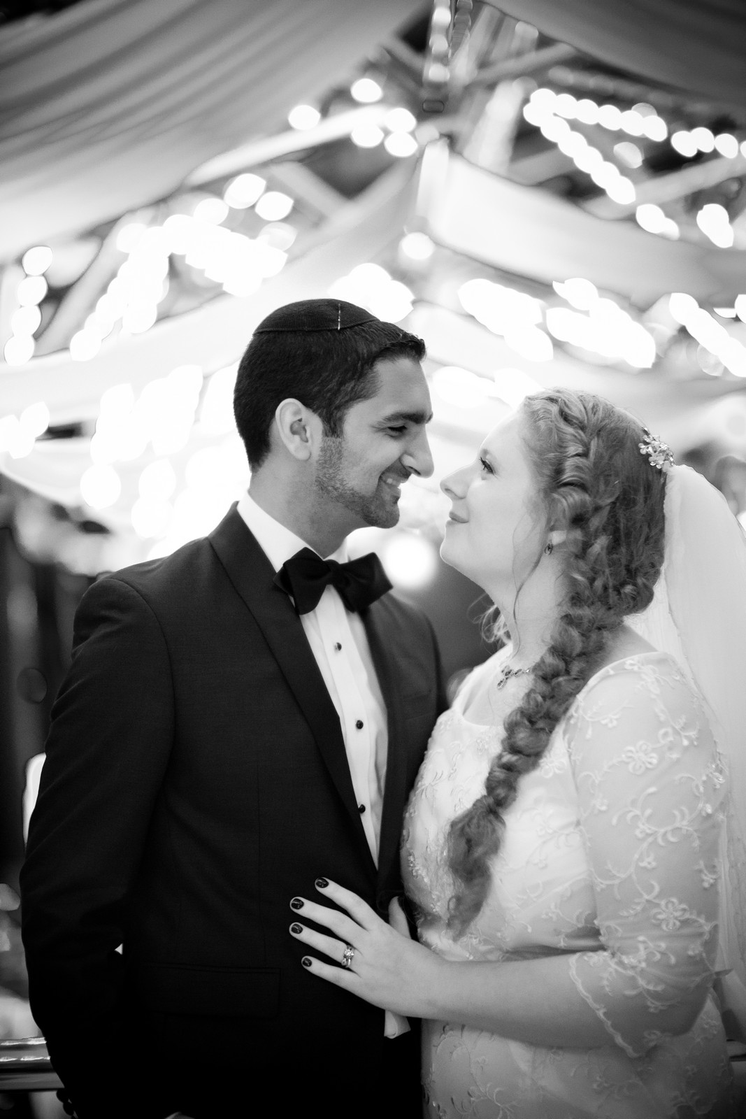 Sam and Yishai's Modern Orthodox Jewish Wedding at Crest Hollow Country Club, Woodbury NY, Photos by Chaim Schvarcz, Bride, Groom