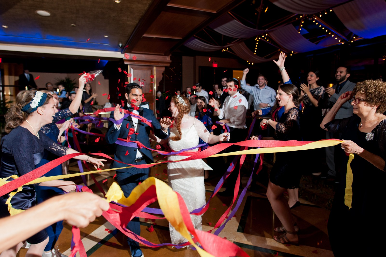 Sam and Yishai's Modern Orthodox Jewish Wedding at Crest Hollow Country Club, Woodbury NY, Photos by Chaim Schvarcz, Bride, Groom, Wedding Dancing