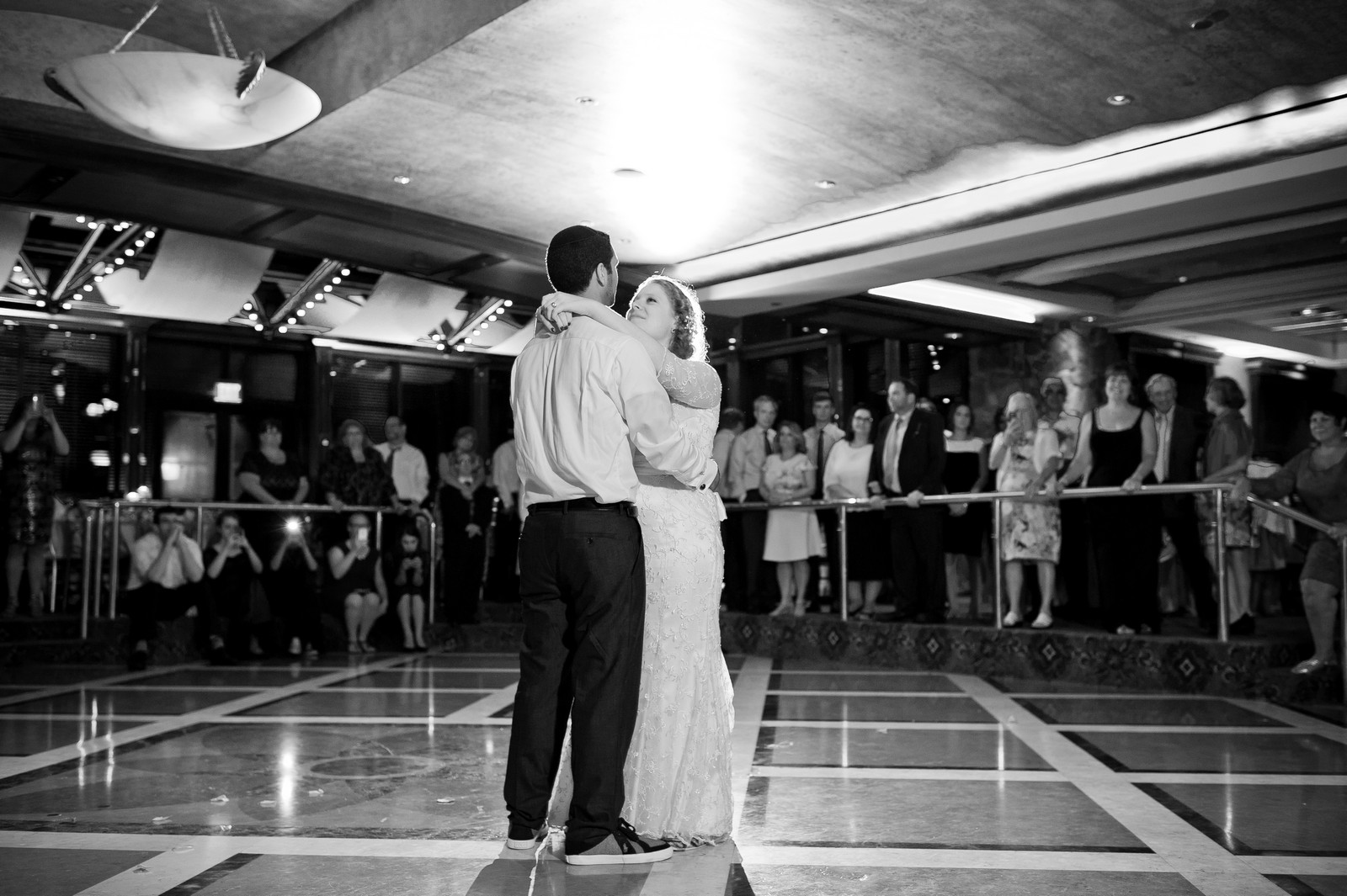 Sam and Yishai's Modern Orthodox Jewish Wedding at Crest Hollow Country Club, Woodbury NY, Photos by Chaim Schvarcz, Bride, Groom, First Dance