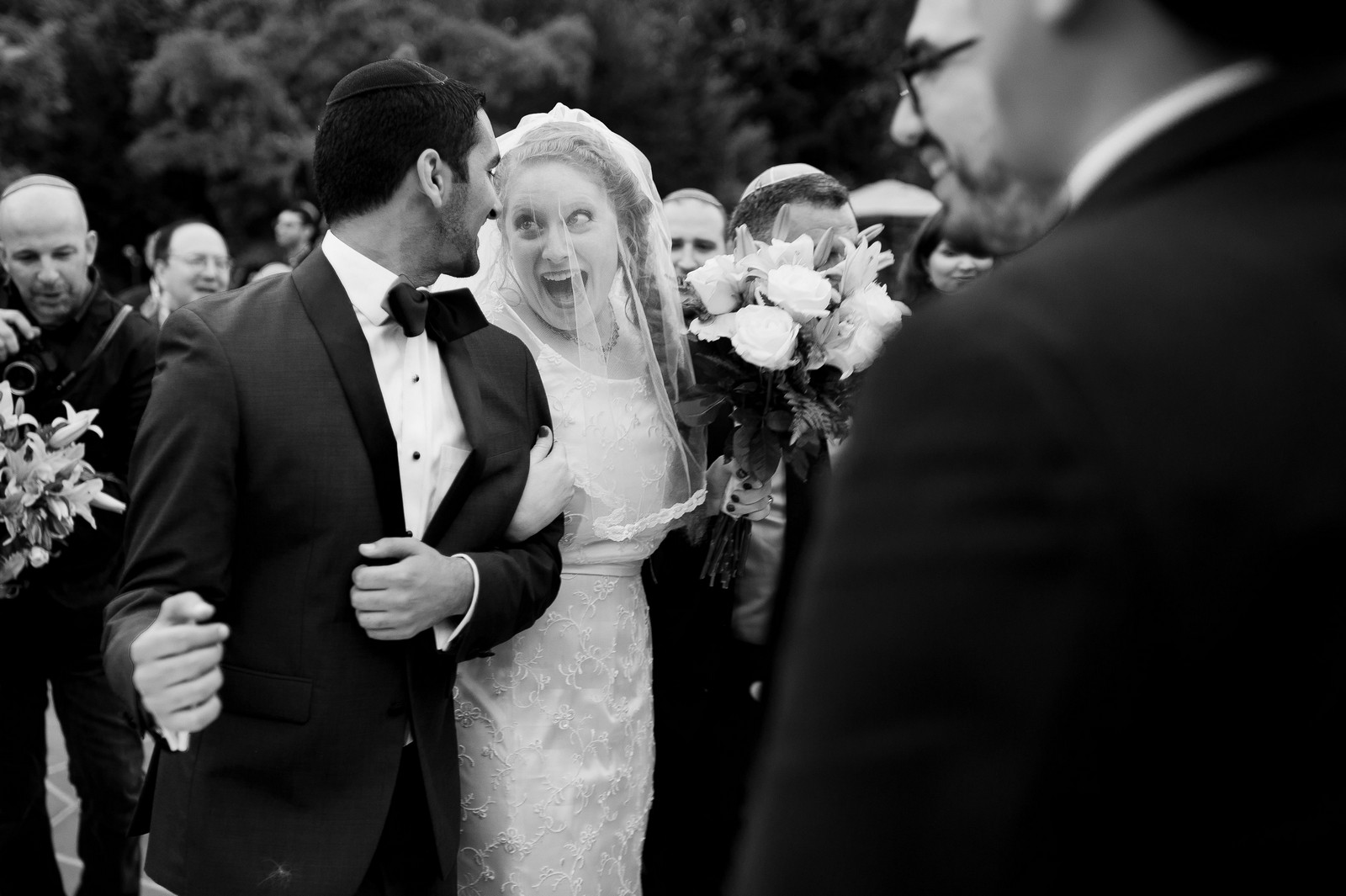 Sam and Yishai's Modern Orthodox Jewish Wedding at Crest Hollow Country Club, Woodbury NY, New York Photos by Chaim Schvarcz, Bride Groom