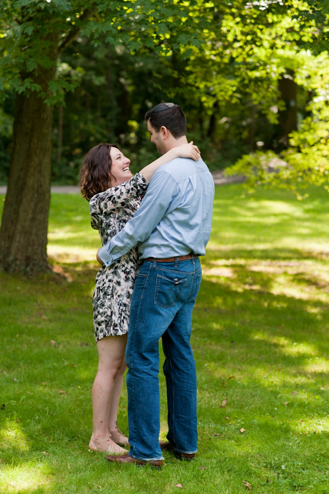 Couple Portraits, Central Park, New York, NYC
