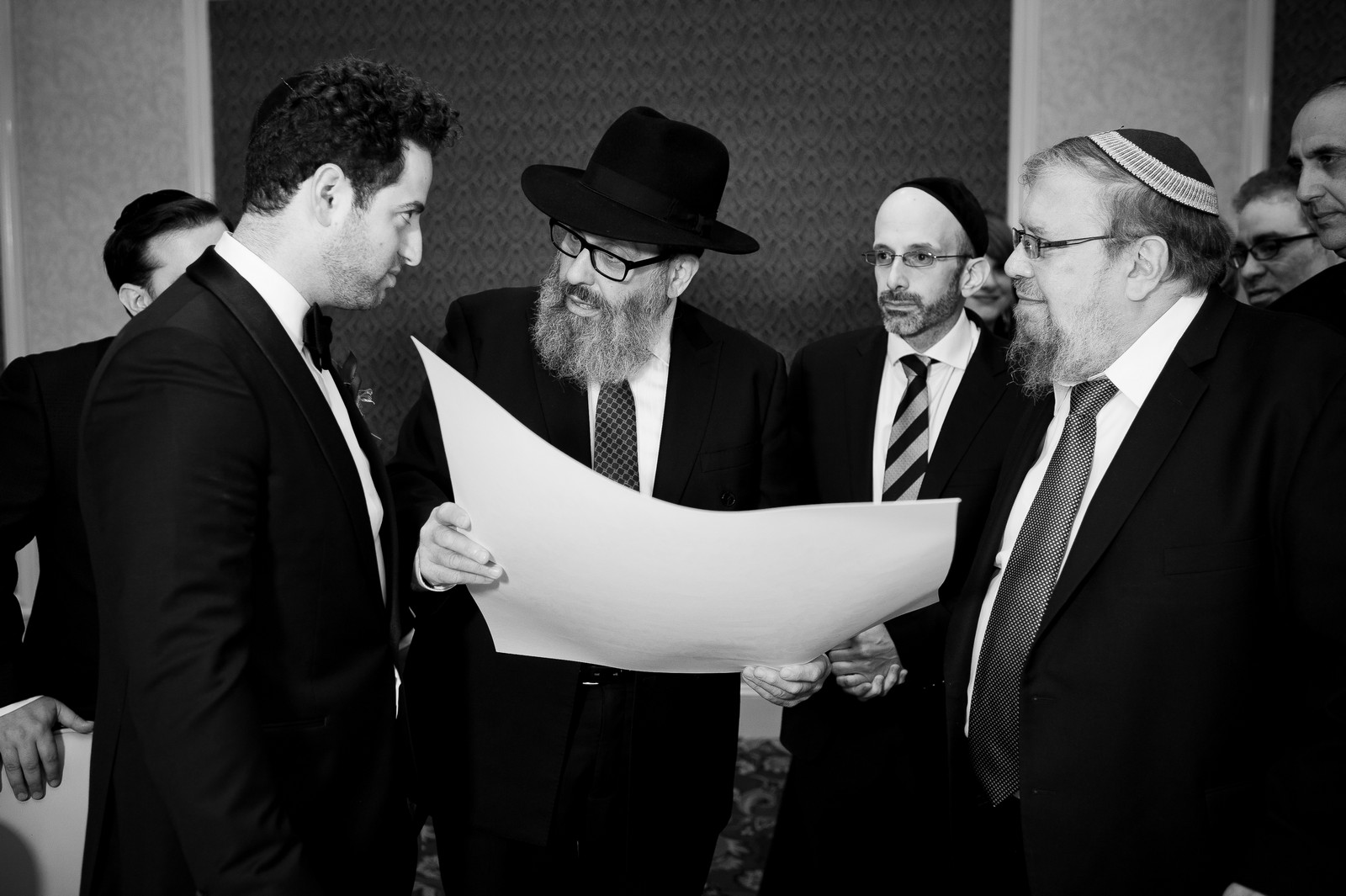 Yoey and Aaron's Memorial Day Modern Jewish Wedding at Anthony's Pier 9, New Windsor, NY Photos by Chaim Schvarcz ketubah