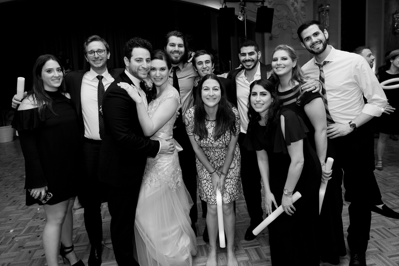 Yoey and Aaron's Memorial Day Modern Jewish Wedding at Anthony's Pier 9, New Windsor, NY Photos by Chaim Schvarcz