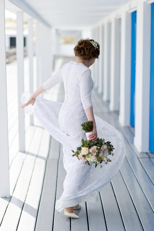 Danna and Eitan's Modern Orthodox Jewish Wedding at The Sands, Atlantic Beach, NY Photos by Chaim Schvarcz bride portraits