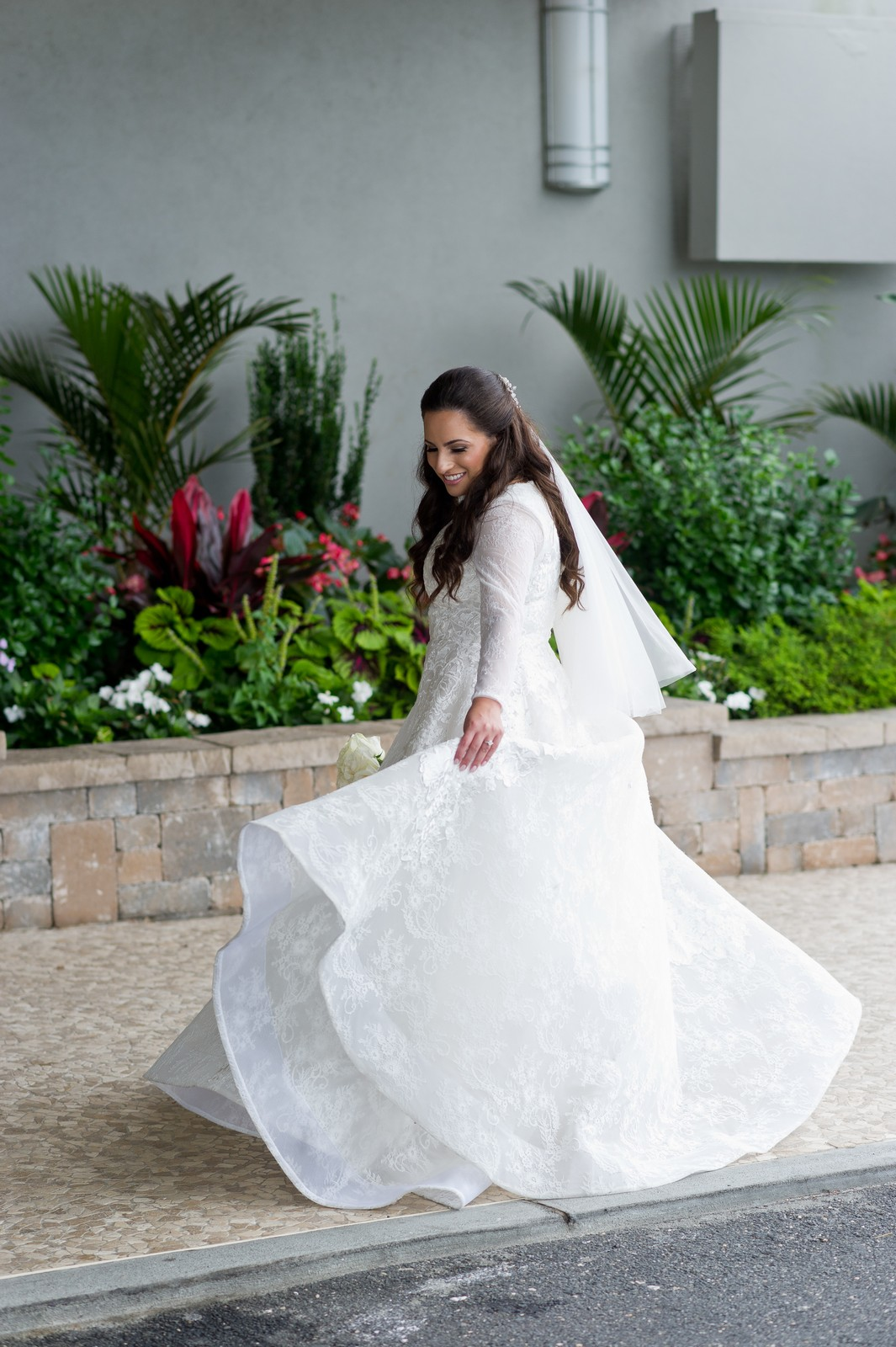 Talya and Michael's Modern Orthodox Jewish Wedding at The Sands, Atlantic Beach, NY Photos by Chaim Schvarcz Bride Portraits