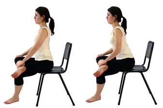 A great stretch for sciatica, this also is a perfect stretch for your hips.