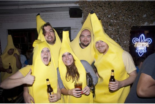 Man, this party is a real banana-fest.