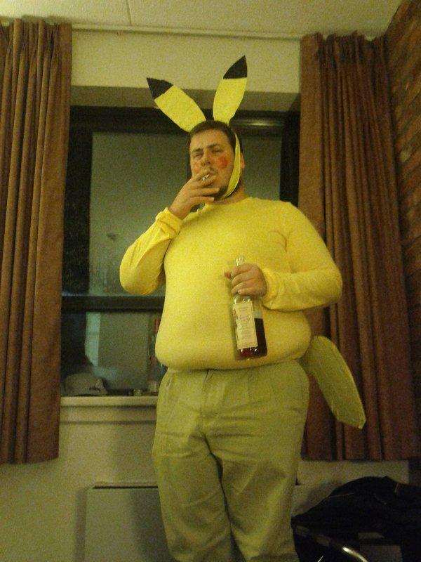 You may choose Pikachu, but Pikachu chooses Sailor Jerry.