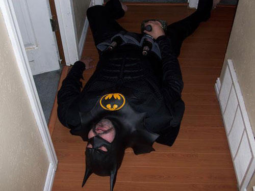 He's not the Batman this party needed, he's the Batman this party deserved.