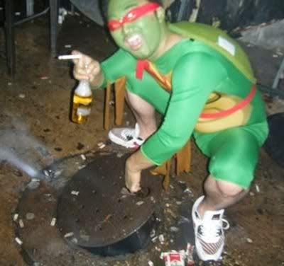 Entering manholes was how Raphael put himself through college.