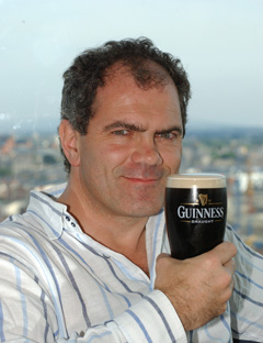 Pour your Guinness right or this guy will kick your ass.