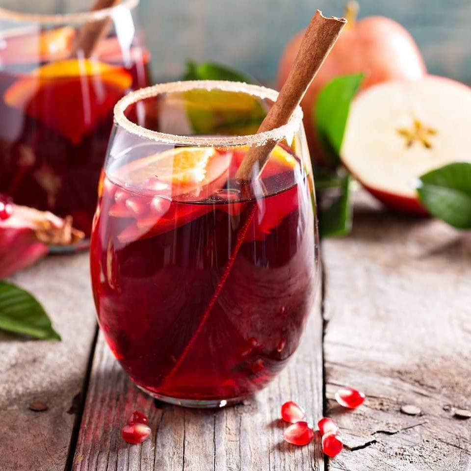 Cranberry Bitters Sangria -  qualifirst