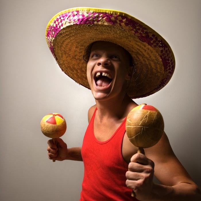 How you actually look celebrating Cinco.