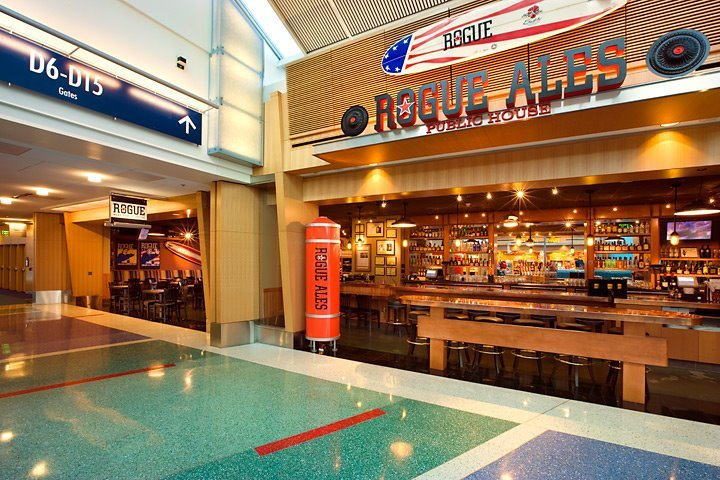 PDX is one of the nicest places to get Airport Drunk.