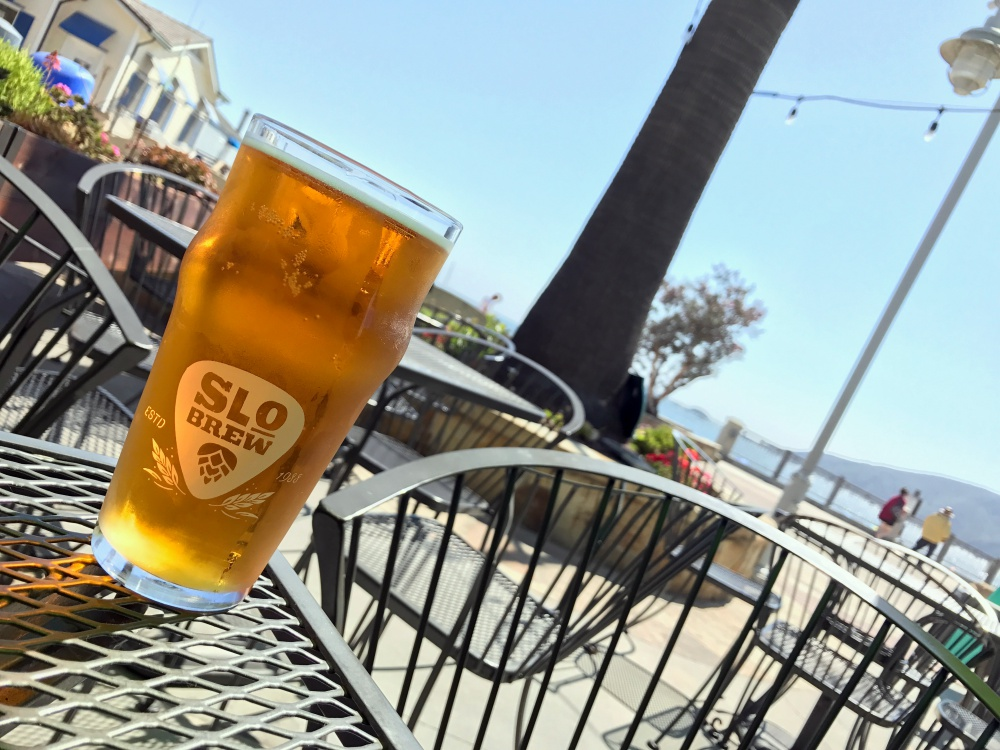 Local beers on draft at Pierfront