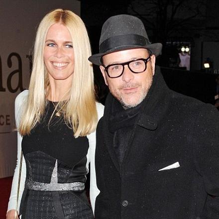 Fun Fact: Matthew Vaughn - The Kingsman Director is married to former super model Claudia Schiffer.