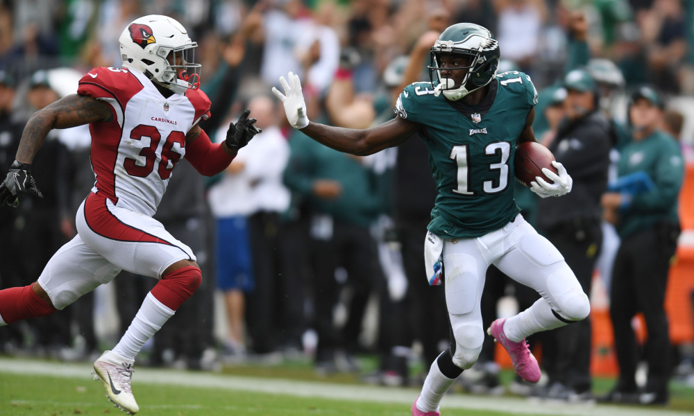 NELSON AGHOLOR - WR - PHI
