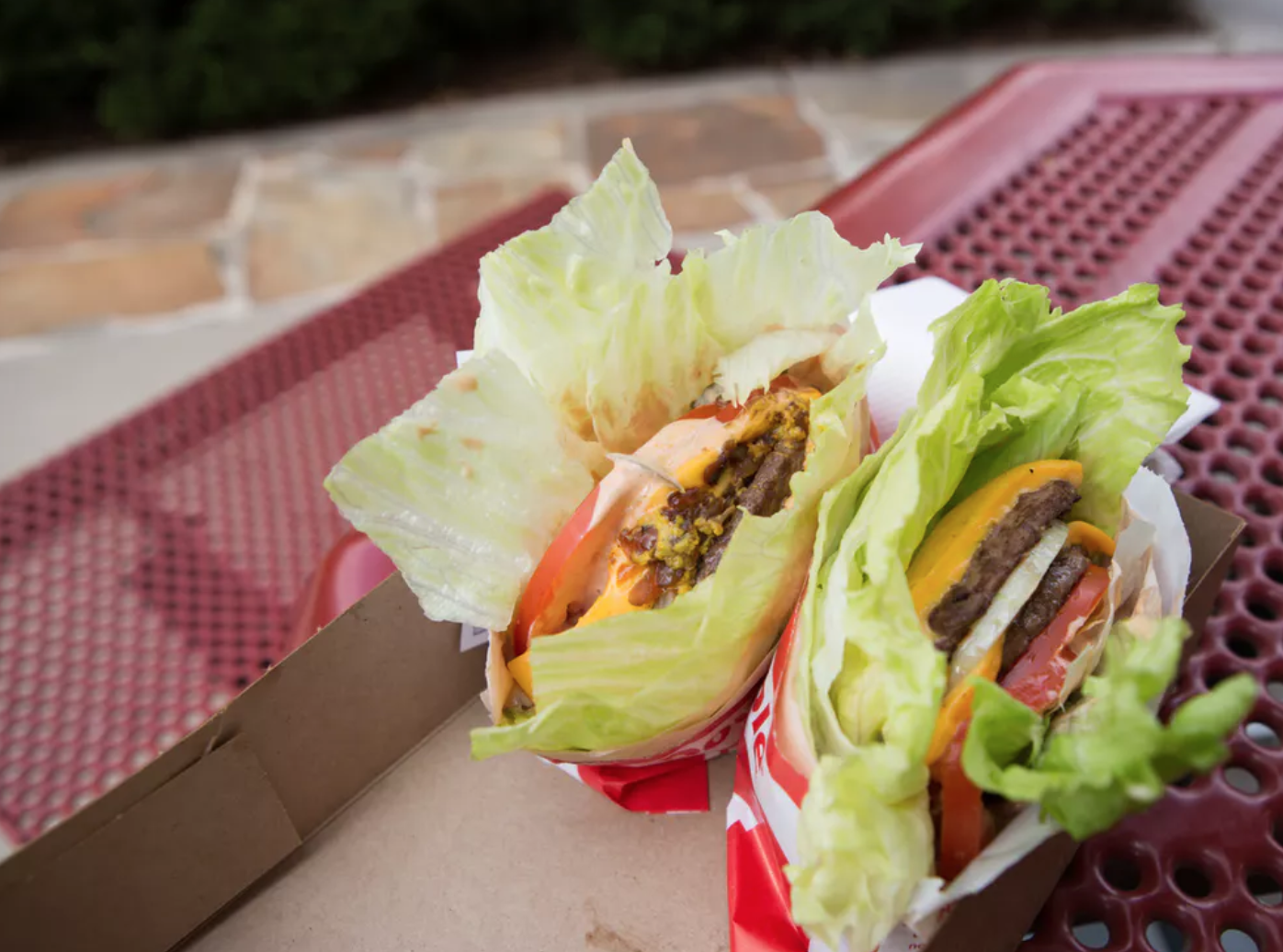 "Even In-N-Out's ""protein style"" burger is some kind of sick joke."