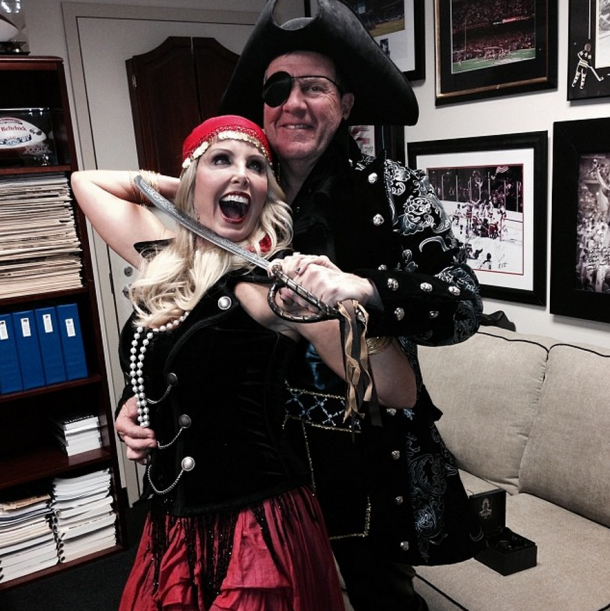 Even Bill Belichick has the Halloween Spirit!