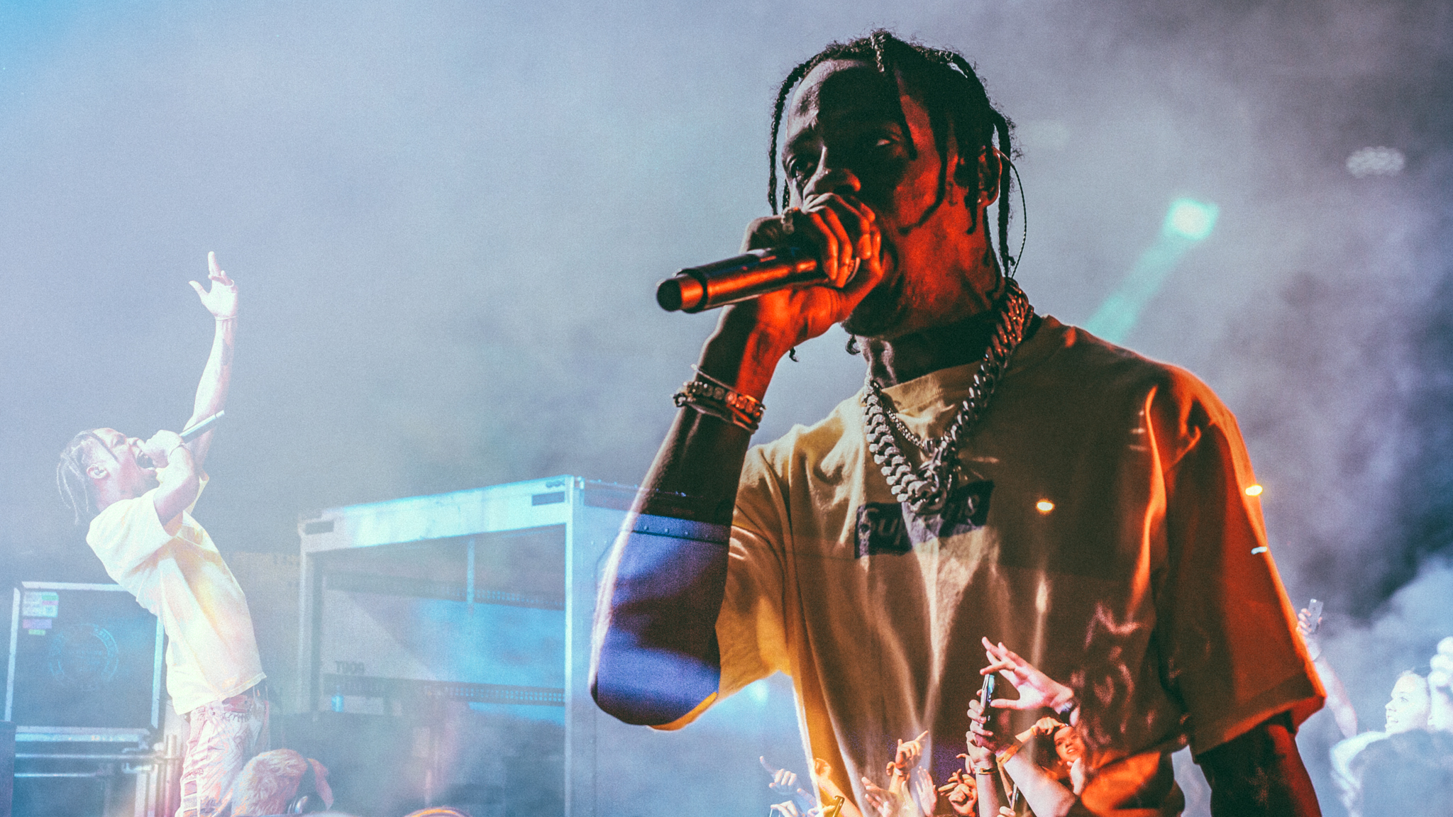 Travis Scott on his first trip to Australia.