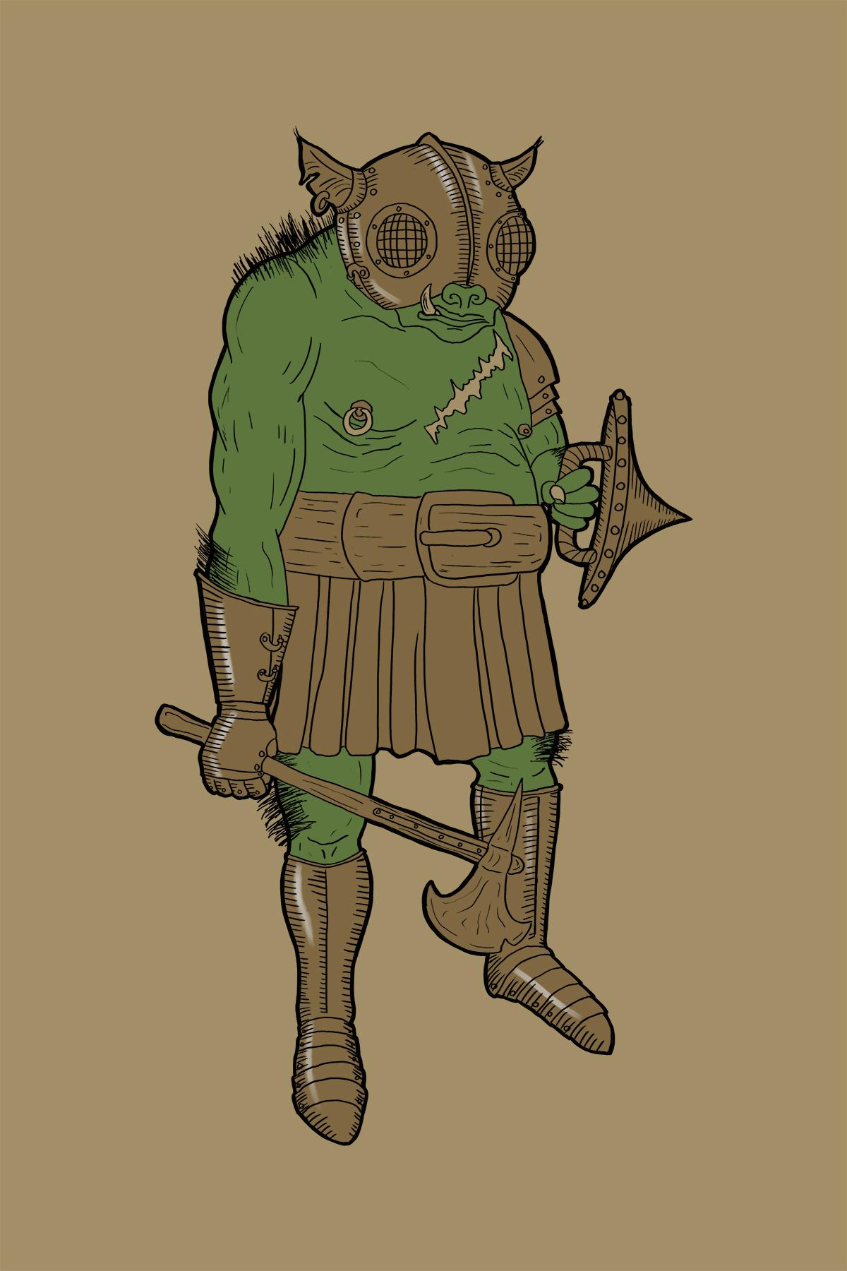Orc - Mountain Clan