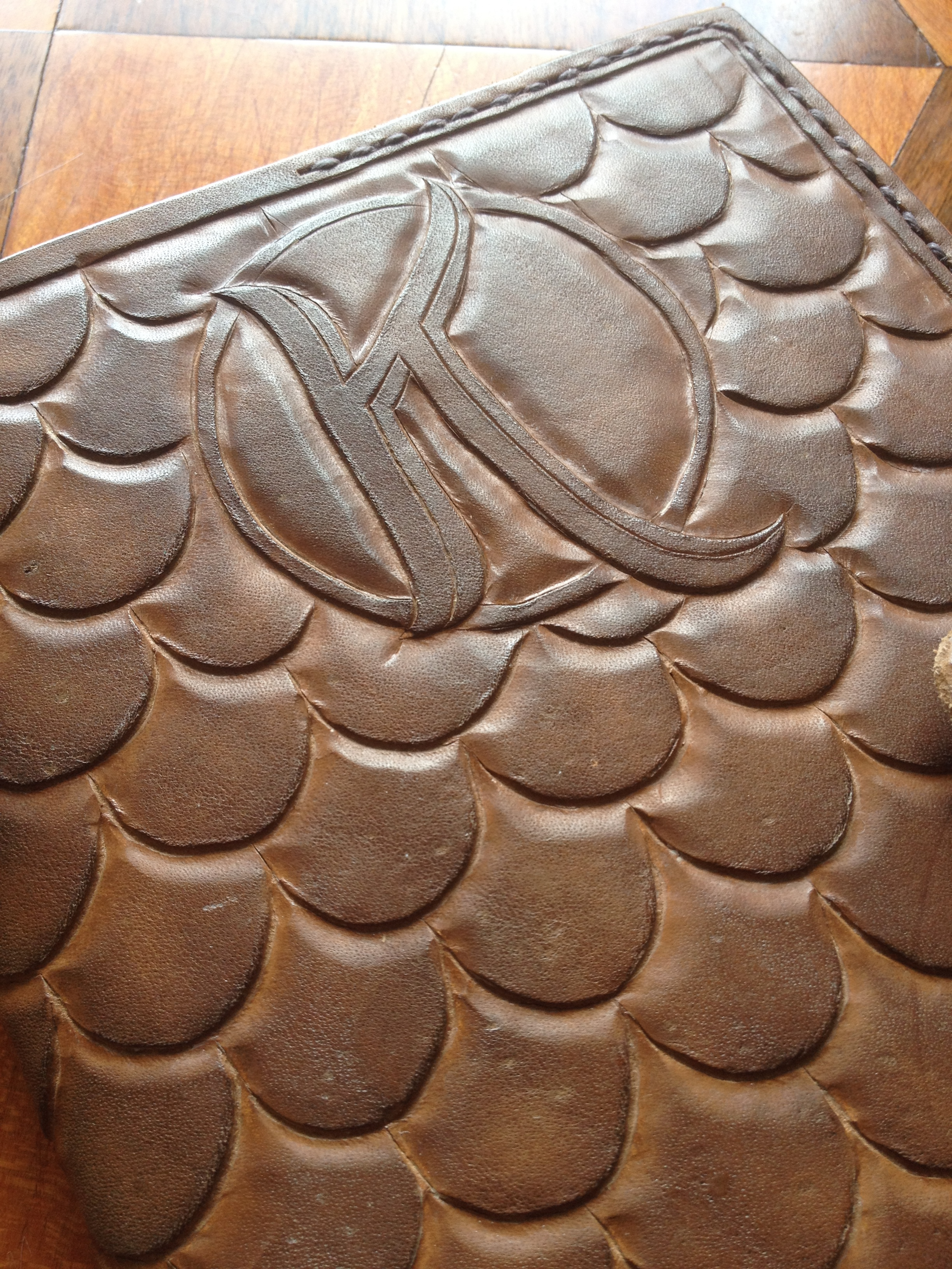 Leather Journal Detail