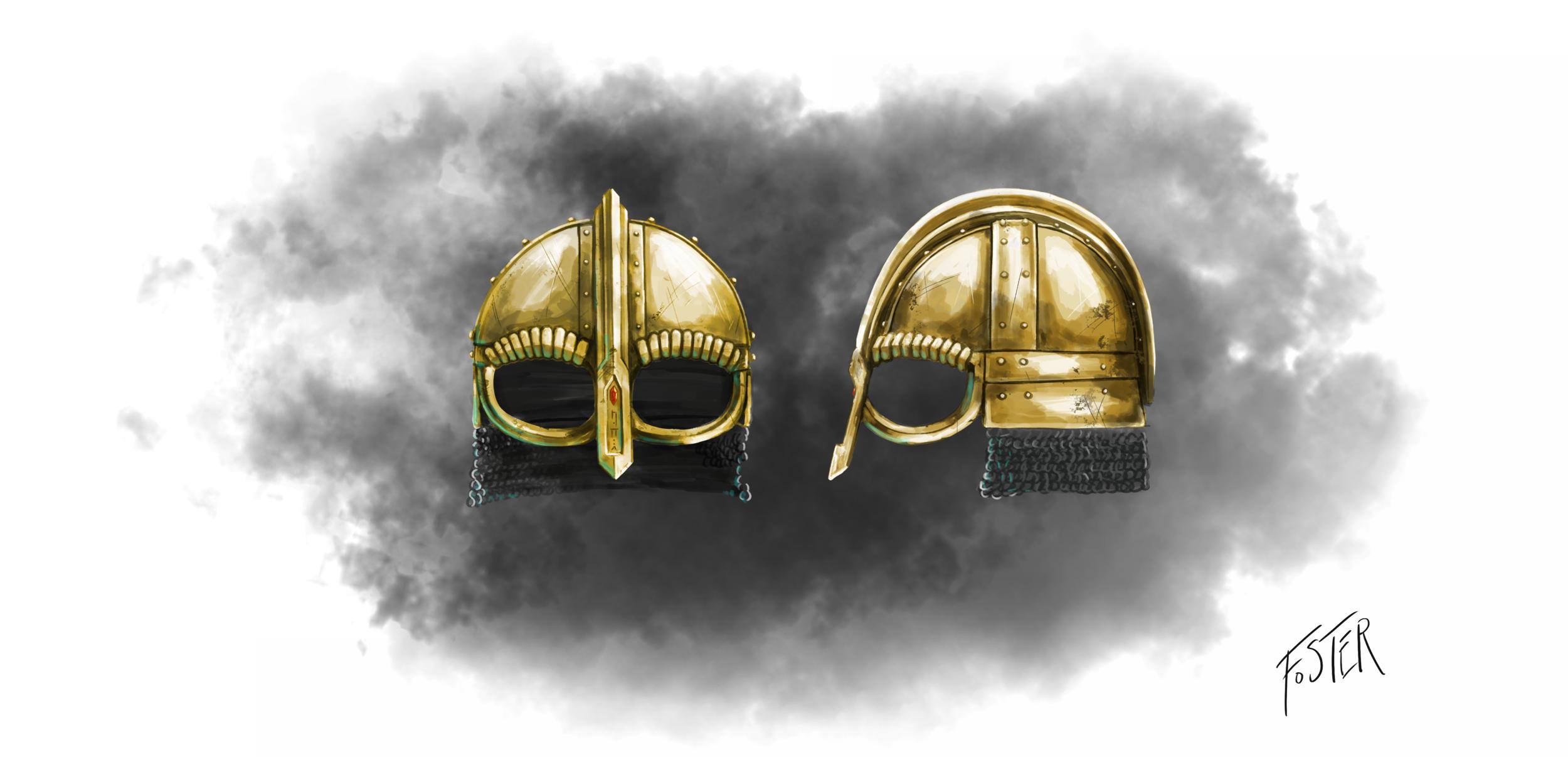 Norse/Viking helmet