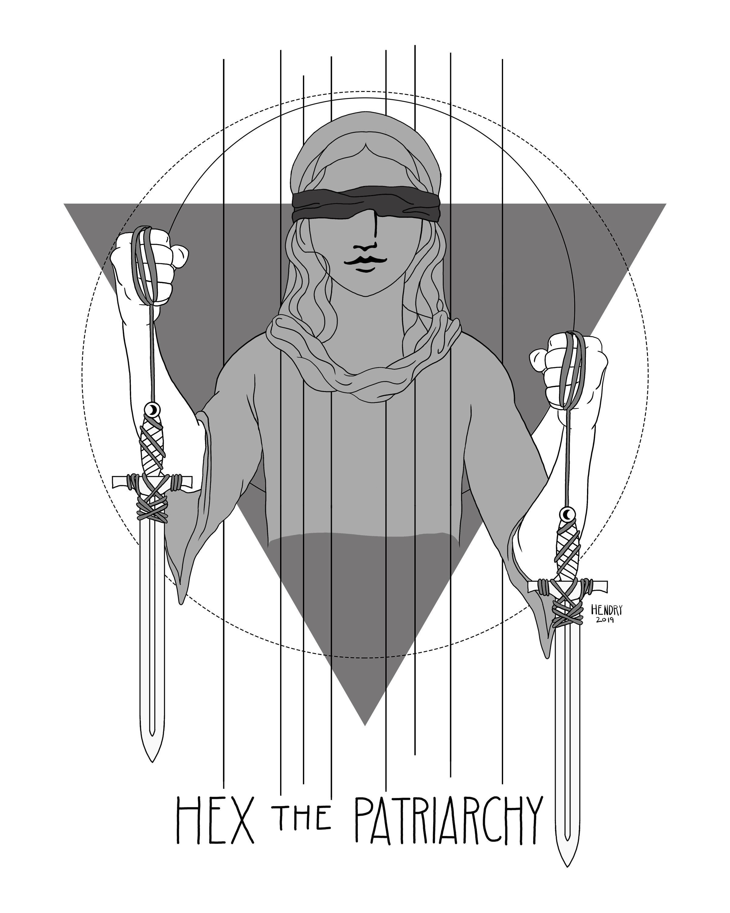 Hex the Patriarchy Black