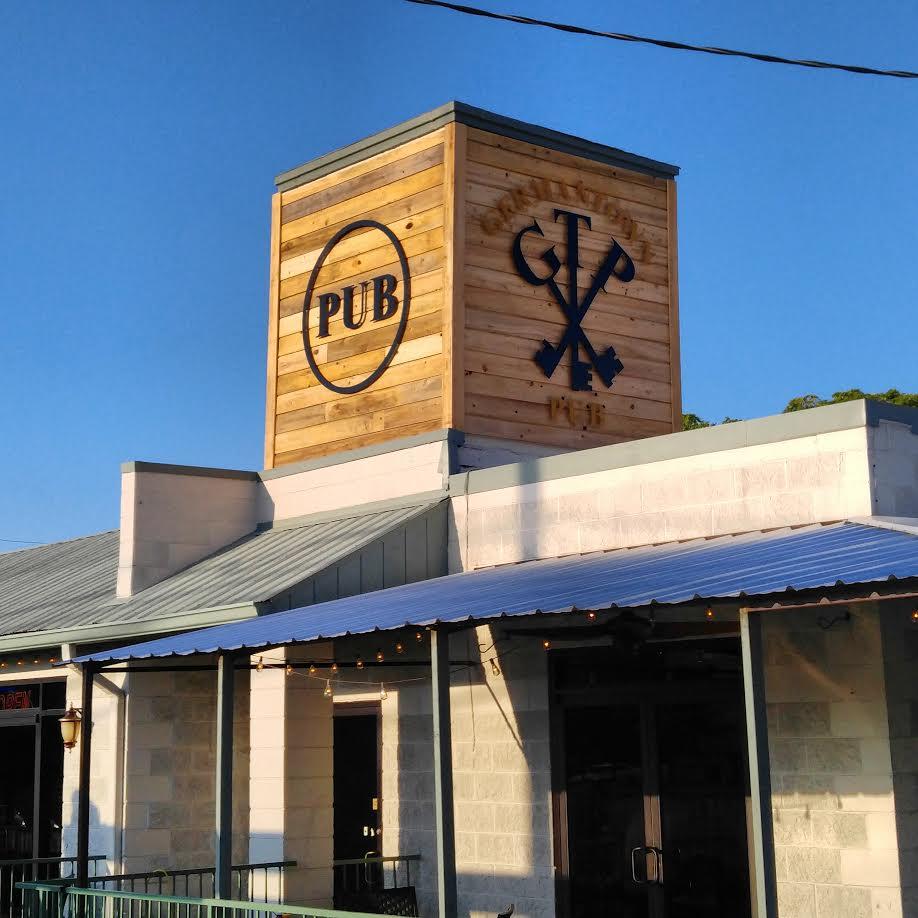 Germantown Pub   Germantown, Tn  8'x8' panels  Cypress and metal