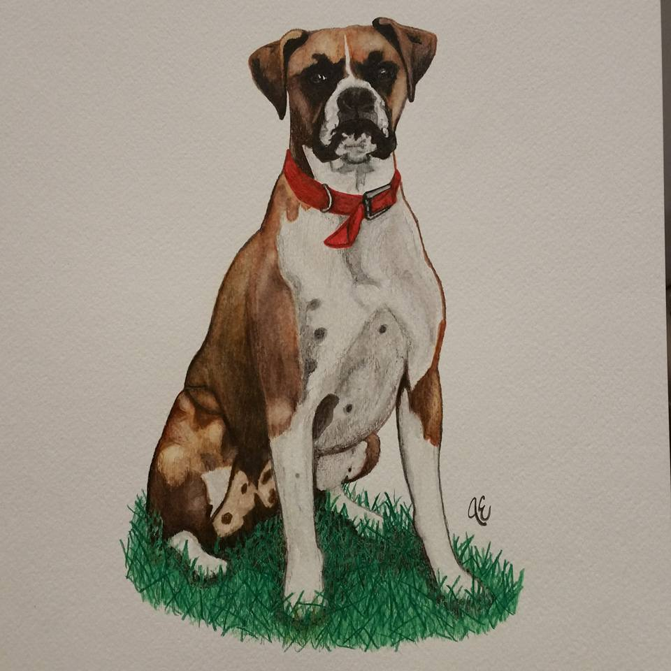 Portrait of Grace | Commission   Watercolor