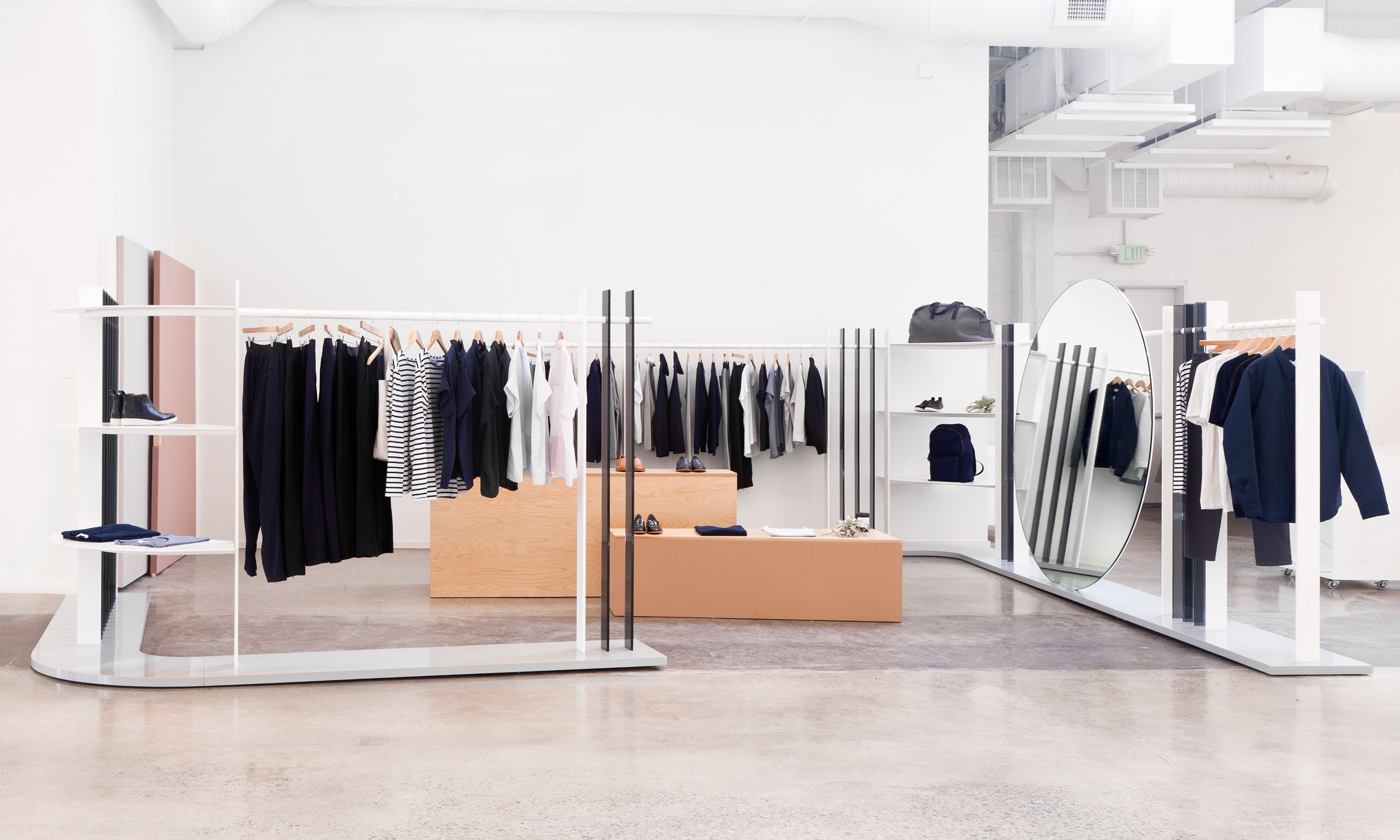 Everlane Showroom   Designing an Online Store IRL