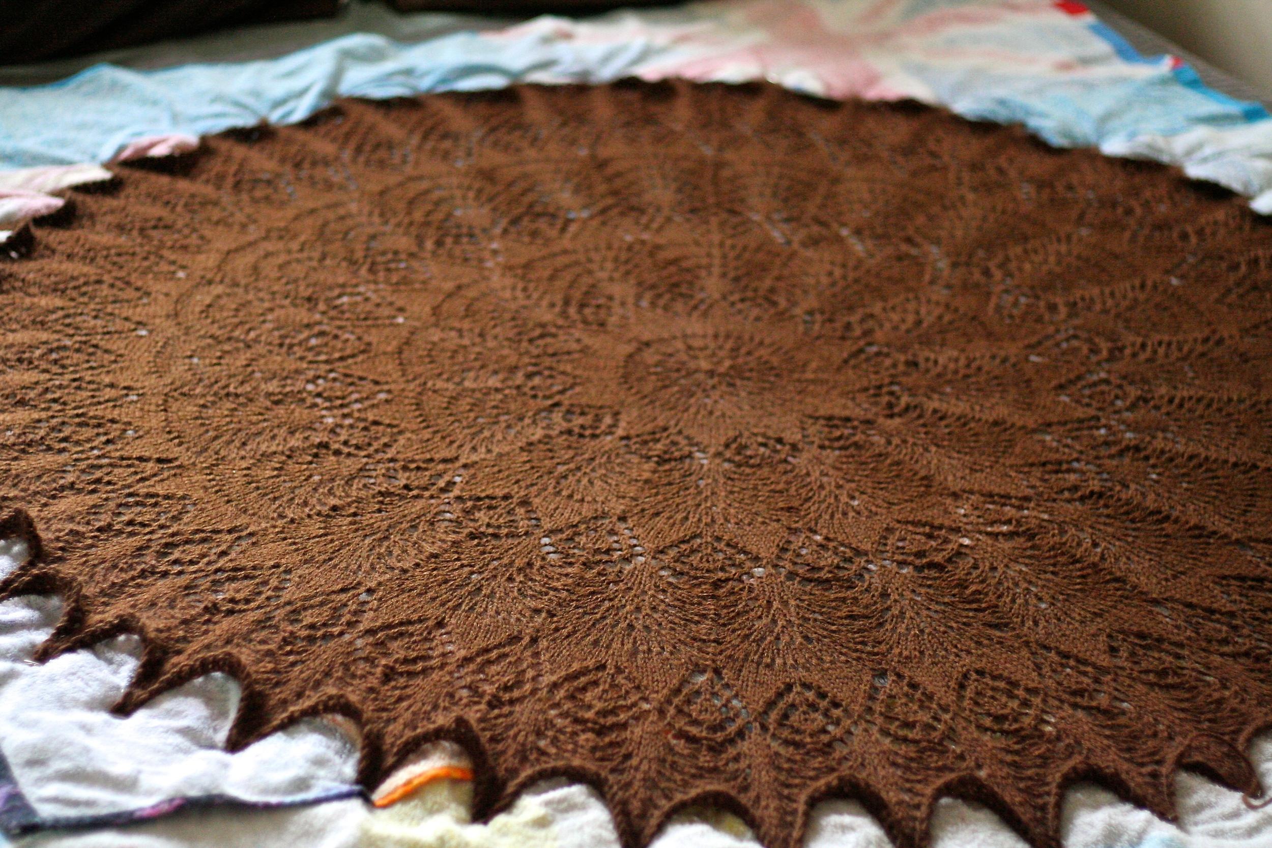 Scandinavian Lace Blanket