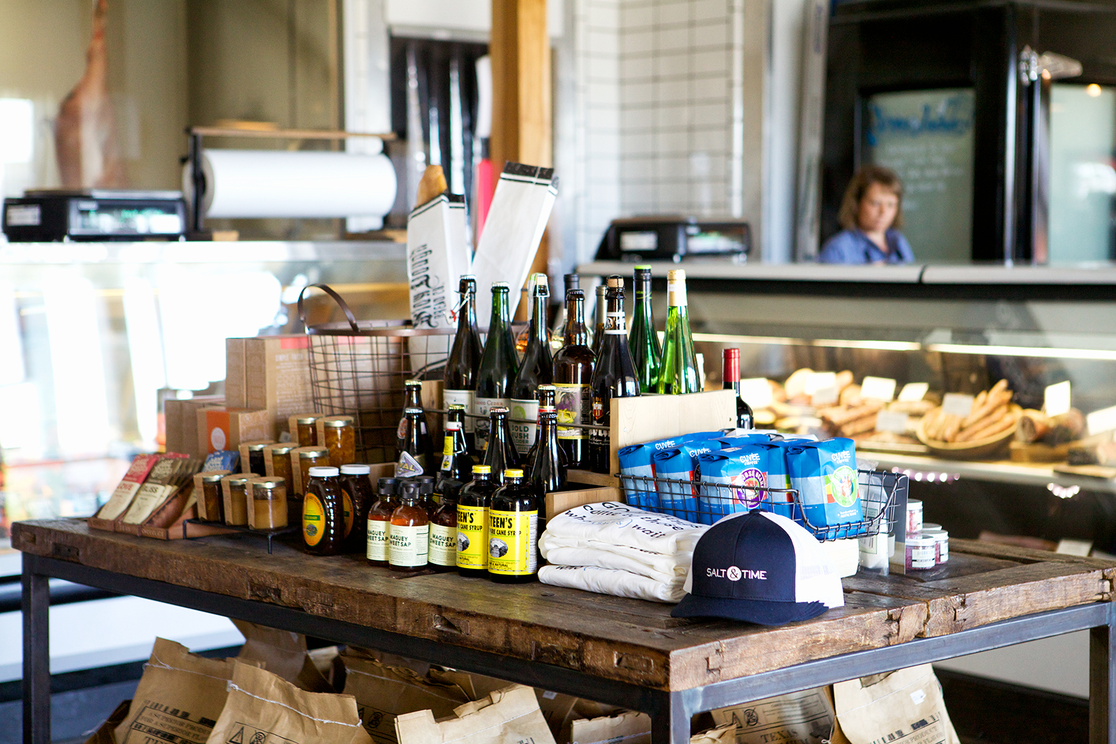 Dry goods, beer, & Wine
