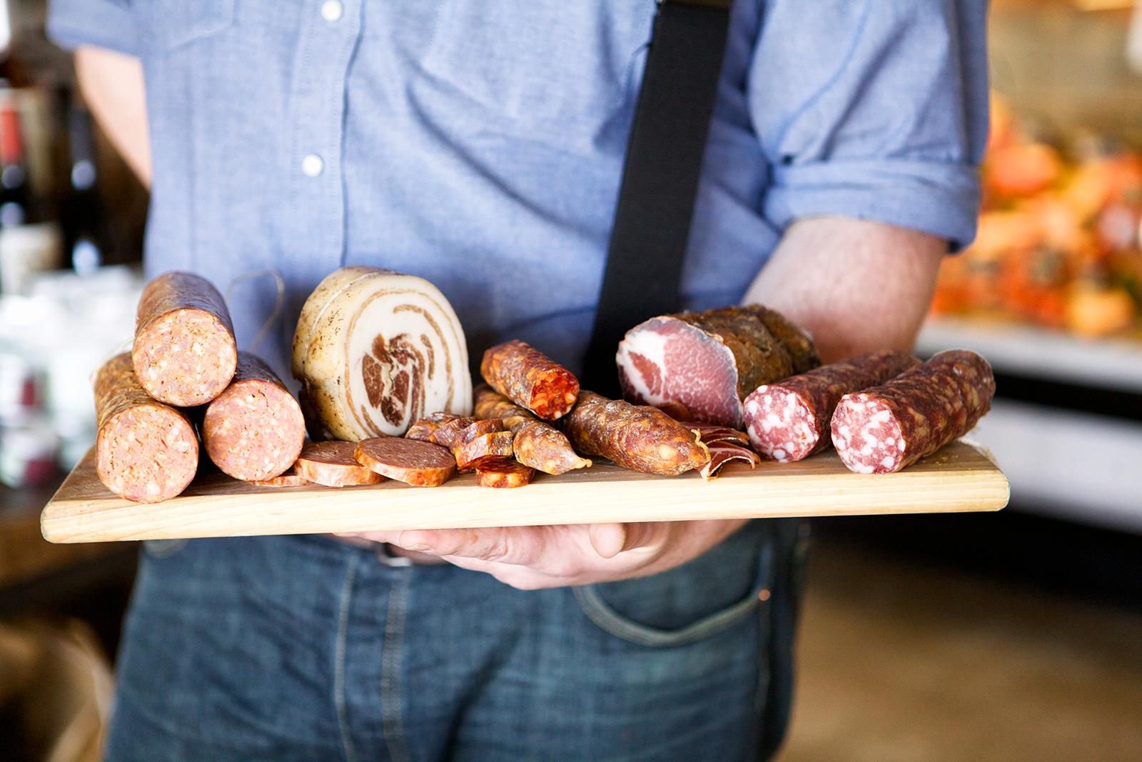 Regionally INSPIRED cured meats