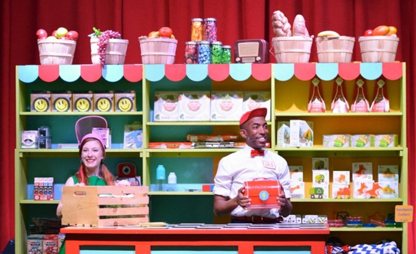 Come see Lalo and friends live! Food, gadgets and more erupt out of Lalo's magic lunchbox! Lalo and friends use these unpredictable items to teach about good foods, being resourceful, and having empathy for others.