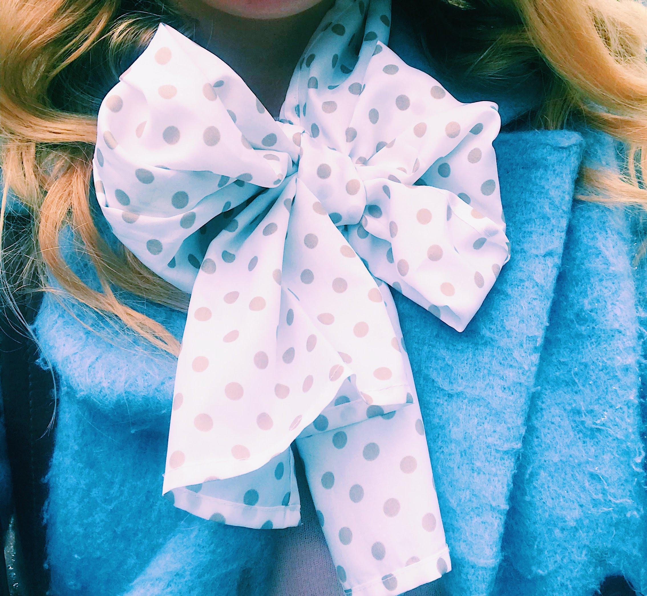 Three Heel Clicks - Pale Blue Coat and Polka Dot Scarf.jpg